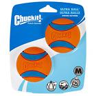 Ultra Rubber Ball Dog Toy, Medium 2 pack