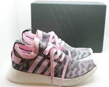 Adidas Originals Women NMD R2 PK Primeknit Sneaker Shoe BY9521 Black Pink 7 NIB