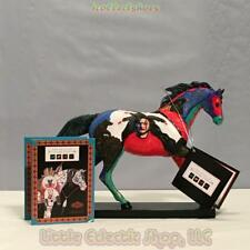 Retired 1E Painted Ponies 1545 EARTH WIND & FIRE #7285 Resin Figurine, Black Box