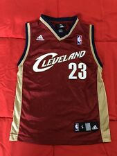Adidas Cleveland Cavaliers Lebron James #23 Jersey Kids Youth Size Small
