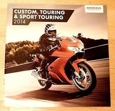 Honda Brochure 2014 - Gold Wing Ctx1300 St1300 Pan Euro Vfr1200F / 800F Vt750C2B