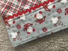 Henry Glass Winter Whimsy Homemade Gnome Flannel Standard Pillowcase New
