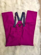Nevica Women's Ski Pants SIZE 10 Raspberry Color