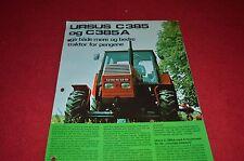 Ursus C 385 Tractor Dealer's Brochure DCPA2
