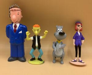 DOUG Jack in the Box Kids Happy Meal McDonald's Figures Nickelodeon Roger Judy