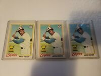 1978 Topps #72 Andre Dawson NM/M lot of 3 cards INVEST HERE.