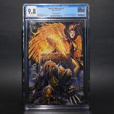 Hunt for Wolverine #1 CGC 9.8 Tyler Kirkham Virgin Variant Cover D 🔥