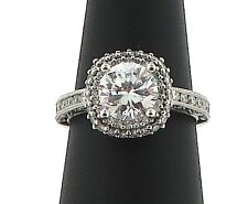 Tacori Blooming Beauties Engagement Ring #HT223CU7.5W