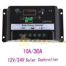 MPPT Solar Panel Battery Regulator Charge Controller 12V 24V 30A Auto Switch