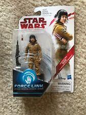 Star Wars The Last Jedi 3.75-Inch Figure Force Link Resistance Tech Rose NIB
