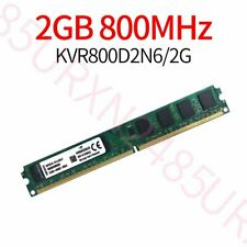 2GB PC2-6400U DIMM DDR2 800MHz 240Pin Desktop PC narrow Memory For Kingston ZT