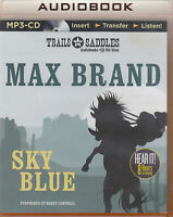 Max Brand Sky Blue MP3 CD Audio Book Unabridged Western Cowboy FASTPOST