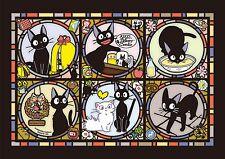 Ensky Art Crystal Jigsaw Puzzle Kiki's Delivery Service Jiji Ghibli 208-AC02