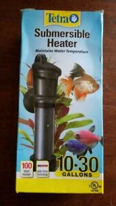 Tetra HT Submersible Aquarium Heater With Electronic Thermostat.  10-30 Gallon
