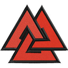 "Patch ""Valknut"" is one of the main characters in the Norse mythology and religio"