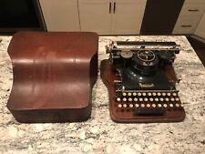 Hammond multiplex typewriter Early 1900's & Wooden Case Serial # 191886