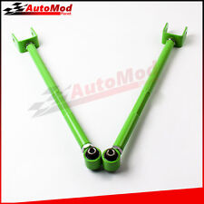 Green Adjustable Rear Lower Control Arms Camber Kit for BMW E46 E36 Z4 Pair