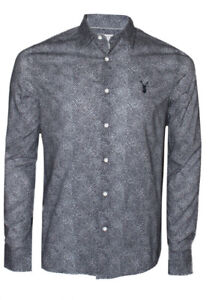 New Mens Pearly King Blare Grey Shirt Size L £39.99 Or Best Offer RRP £60