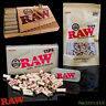 Raw Natural Unrefined Pre-Rolled Paper Roach Tips in a Reusable Stash Tin by Sky