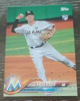 Lot (75) 2018 Topps Series 1 Baseball RCs Brian Anderson card #234 invest