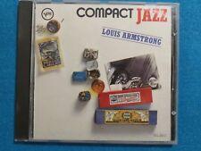 Louis Armstrong Compact Jazz Sammlung mit / Oscar Peterson ; 1987 VERVE /