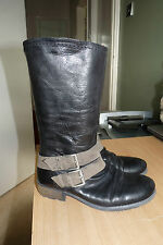 LADIES NEXT LEATHER TWO TONE BOOTS - USED BUT GREAT CHEAP ITEM. LOOK!