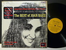 The best of JOAN BAEZ America's most exciting folk singer SQUIRE RCDS S/SQ 33001