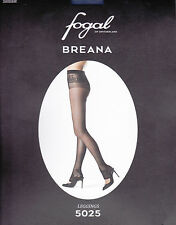 Fogal Breana Leggings, Tattoo-Ornament Höschen und Fessel, soap, L = 44-46