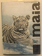 Maia SIBERIAN TIGER Counted Cross Stitch Kit - Sealed New in Box