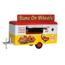 Oxford Diecast NTRAIL006- Buns On Wheels Mobile Trailer - 1:148 Scale
