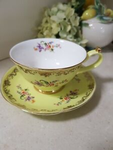 Large Lime Green T2 Cup & Saucer