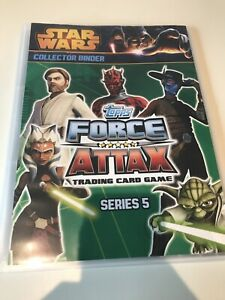 Force Attax Series 3 Binder + Over 150 Cards