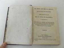 1796 EL BUEN USO DE LA LOGICA EN MATERIA DE RELIGION Calf Binding 1st SPANISH Ed