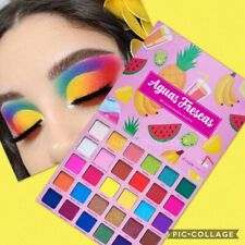C LUX Extreme Pigmented AGUAS FRESCAS Eye Shadow Palette Bright Neon colorpop