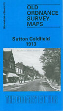OLD ORDNANCE SURVEY MAP SUTTON COLDFIELD 1913
