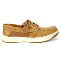 Sperry Top-Sider Men's Convoy 3-Eye Linen Boat Shoes STS17627 NEW