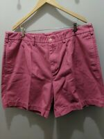 Vineyard Vines Pleated Shorts Casual Salmon Coral Pink Men's Size 42 EUC