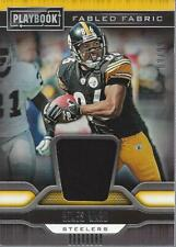 2019 Panini Playbook Fabled Fabric #8 Hines Ward Jersey /99 - NM-MT