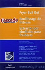 NEW Cascade with Phosphates Professional Fryer Boil Out 85 oz 1 FREE SHIPPING