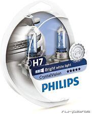 Genuine PHILIPS Crystal Vision H7 55W 12V PX26D 12972CVSM (2 bulbs H7 + 2 W5W)