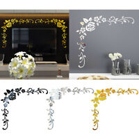 Hot Wall Stickers  Flower Vine Vinyl Art Decal Mural Removable Home Decor