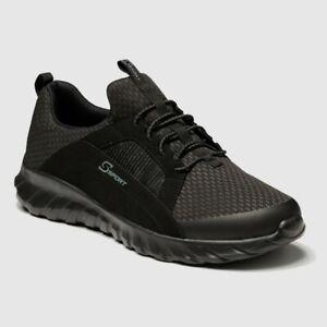 Men's S Sport By Skechers Brennen Performance Athletic Shoes - Black Size 7