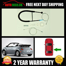 Volkswagen Beetle Cabriolet Convertible Rear Right Window Regulator Repair NEW