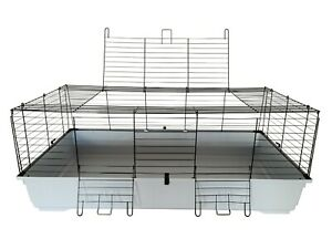 X-Large Rabbit Cage 120cm Indoor Hutch XL Pet Small Rodent Home House Ferret Rat