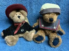 "Lot of 2 Boyds Bears Plush 9"" Eloise Willoughby and Worthington"