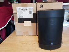 Brand New Q Origin Acoustic QS56B  Seasons Outdoor  Speakers Black Pair