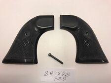 Vintage Buffalo Horn Grips, Ruger Blackhawk XR3 Red Grips Frames