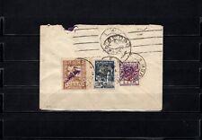 Brief aus Georgien mit Aufdruckausgaben nach Marburg, Deutschland 1923