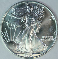 1990 American Silver Eagle - One Troy Ounce .999 Pure - UNC a54
