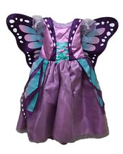 NEW Baby & Toddler Koala Kids Purple Butterfly Costume Dress Gown 3-6 Months